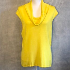 ⚡️3 for $33 Jones New York Yellow Sleeveless  Top